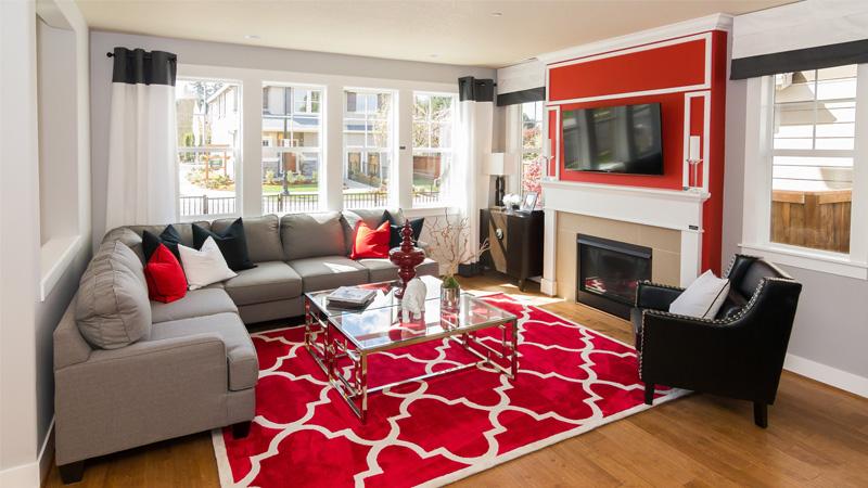 Trang trí nhà cửa ngày Tết bằng thảm trải sàn