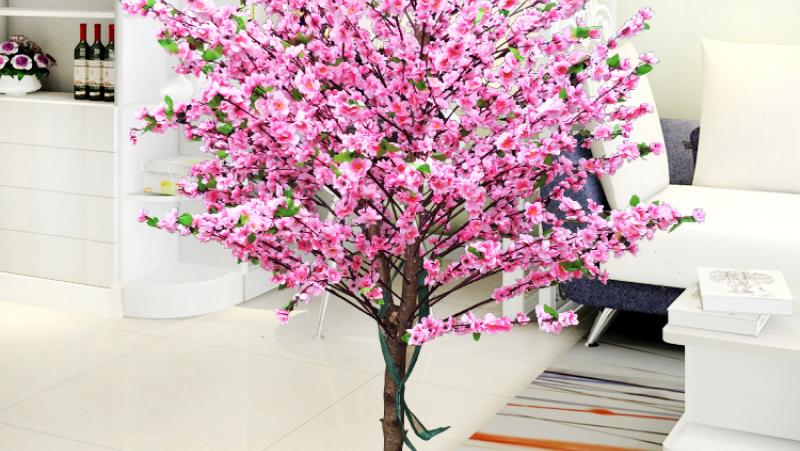 Trang trí nhà cửa với hoa, cây cảnh giả