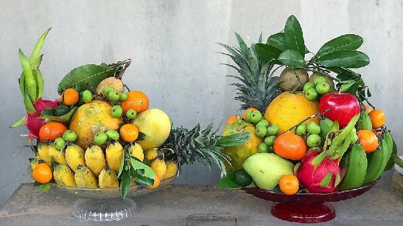 Cách chọn trái cây cúng khai trương của người miền Bắc, miền Trung