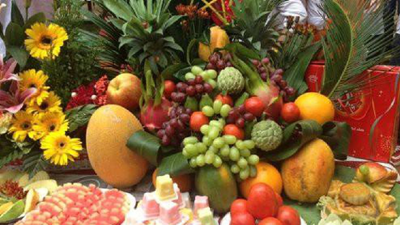 Cách chọn trái cây cúng khai trương của người miền Nam