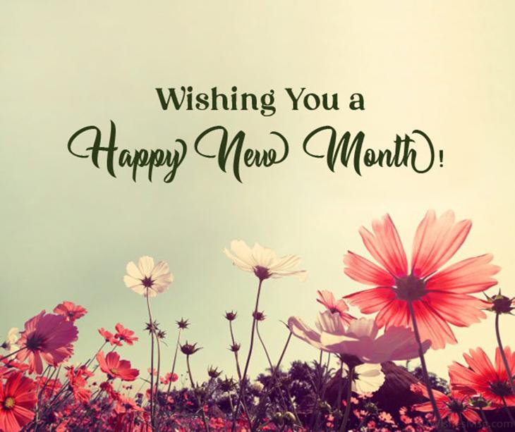 Lời chúc đầu tháng bằng tiếng Anh