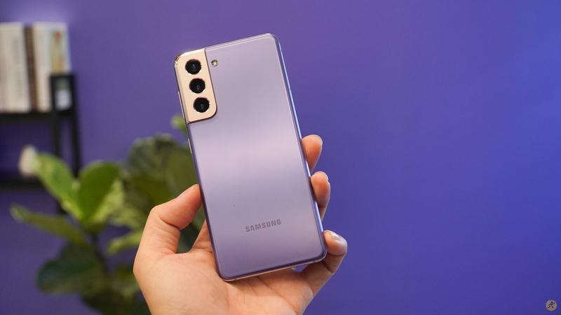 Samsung Galaxy S21 5G vừa được ra mắt