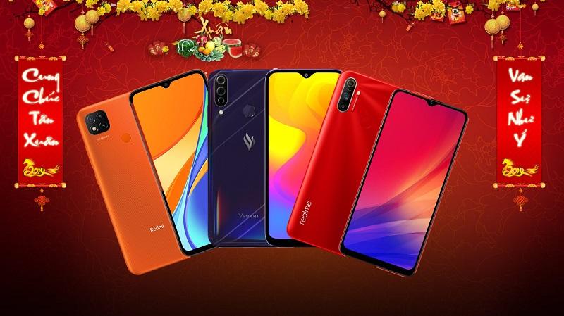 TOP 3 smartphone tầm giá dưới 3 triệu