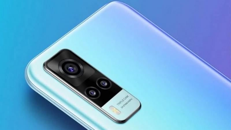 Lộ ảnh render và nhiều thông số kỹ thuật chính thức của Vivo Y31: Dùng chip Snapdragon 662, pin 5.000mAh, 3 camera lớn mặt sau