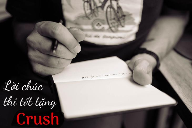 Chúc crush thi tốt ngắn gọn mà ý nghĩa