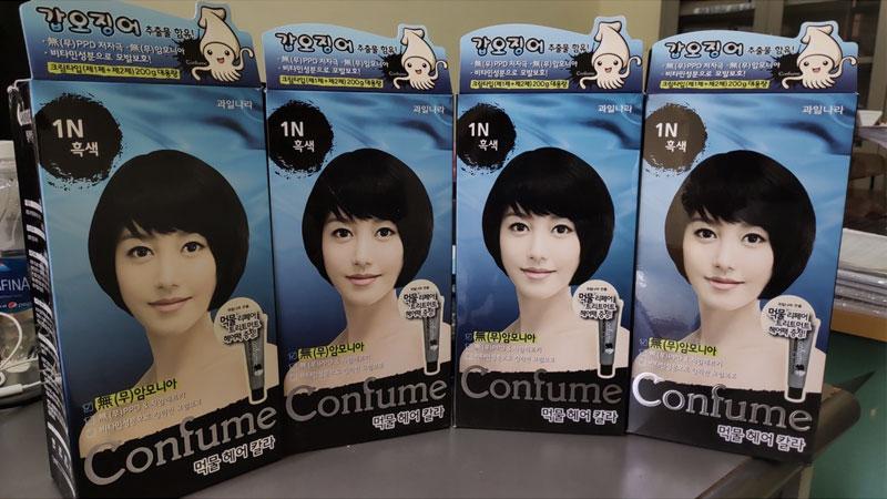 Thuốc nhuộm tóc Confume