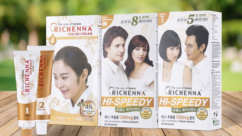 Thuốc nhuộm tóc Richenna