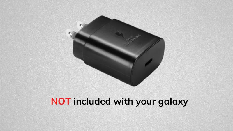 Samsung không tặng kèm củ sạc trong hộp Galaxy S21 vì lý do bảo vệ môi trường