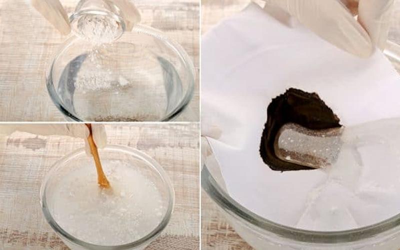 Tẩy thuốc nhuộm với nước tẩy có chứa Chlorine