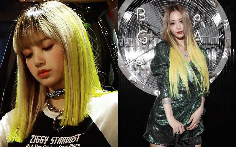 Kiểu tóc vàng chanh Ombre