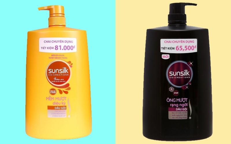 Thương hiệu dầu gội Sunsilk