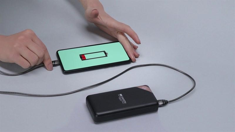 Hiệu ứng sạc điện thoại