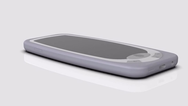 Xuất hiện mẫu ý tưởng Nokia 3310 (2021) cực kỳ độc đáo với màn hình tràn viền, camera selfie thò thụt và có cả cảm biến vân tay