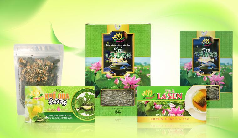 Mở đầu câu chuyện đầu năm với trà Hương Sen Việt vị đậm Việt Nam