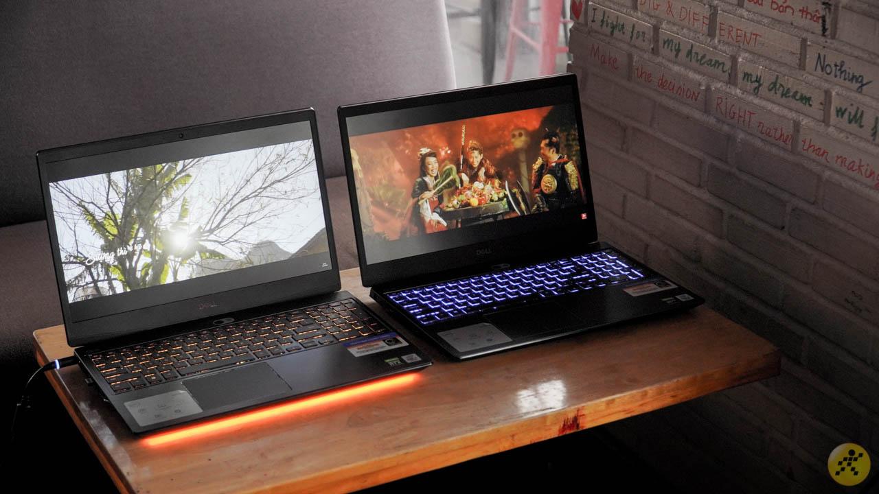 Thiết kế bộ đôi laptop Dell Gaming