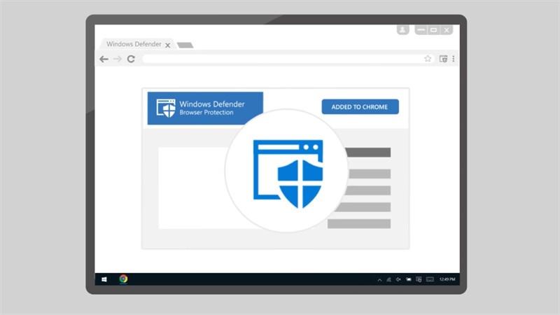 Tiện ích Windows Defender