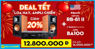 Đón Tết Tân Sửu 2021: Sắm bộ dàn loa Amply giảm giá đến 20% tại Điện máy XANH