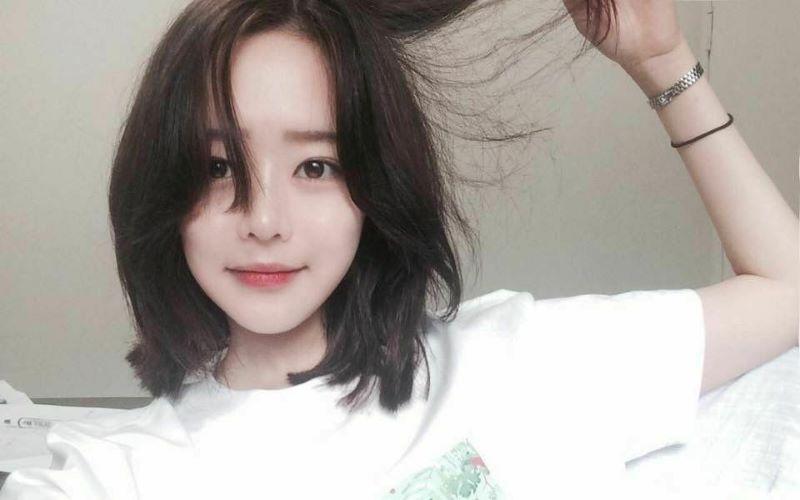 Tóc ngắn mái dài Hàn Quốc