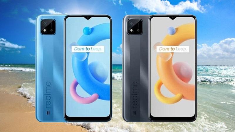 Smartphone giá rẻ Realme C20 lộ ảnh render chính thức kèm thông số kỹ thuật: Chip Helio G35, màn hình 6.5 inch, pin 5.000mAh