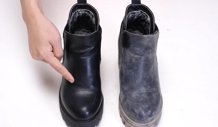 """Đánh bóng giày da không cần xi đánh giày với món đồ """"hết hạn sử dụng"""" mà bạn gái nào cũng có"""