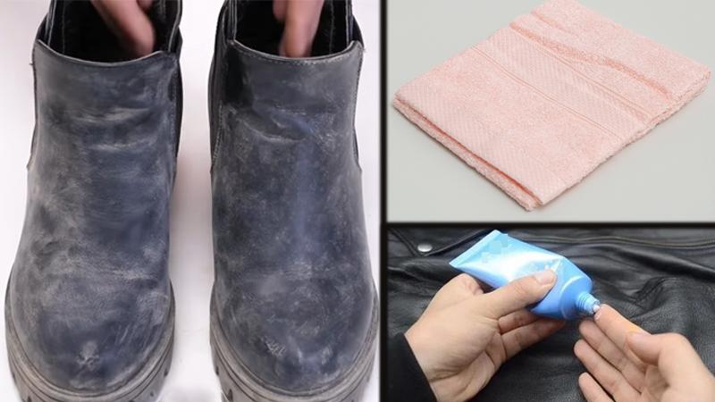Vật dụng cần chuẩn bị để đánh bóng giày