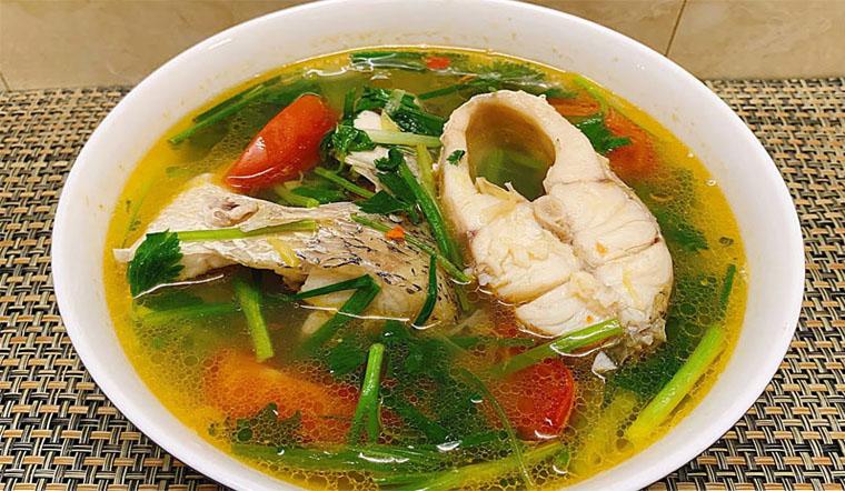 Canh cá chẽm nấu ngót, món ngon cho cả nhà ngày se lạnh