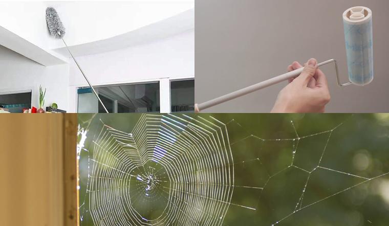Những cách quét mạng nhện nhanh chóng, sạch sẽ nhất