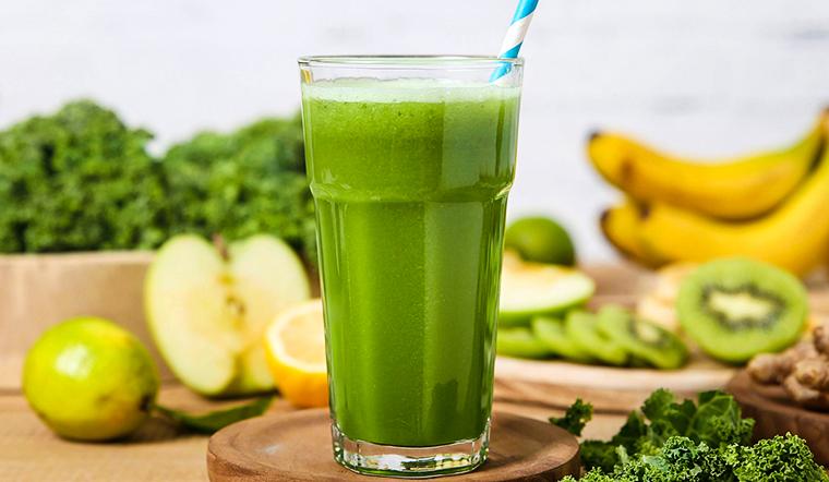 7 công thức nước ép cải kale giúp da sáng dáng xinh