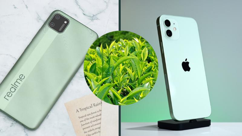 5 điện thoại màu trà xanh đang giảm giá sốc, hấp dẫn đáng mua