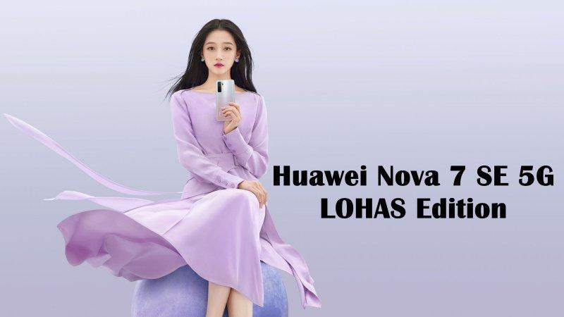 Huawei Nova 7 SE 5G LOHAS Edition ra mắt: Dùng chip Kirin 820E mới, bộ tứ camera sau với cảm biến chính 64MP, giá 8.2 triệu đồng