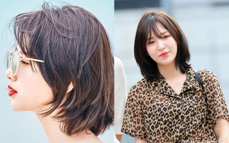 Kiểu tóc này sẽ giúp bạn che được phần xương hàm hiệu quả