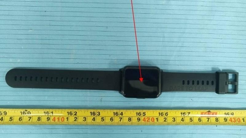 Đồng hồ thông minh Realme Watch 2 rò rỉ cấu hình chi tiết cùng thiết kế đẹp như Apple Watch tại FCC