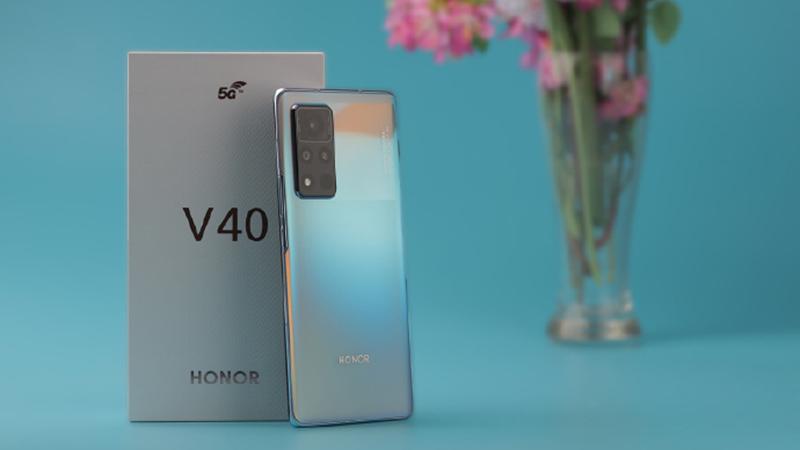 Honor V40 5G vừa được ra mắt
