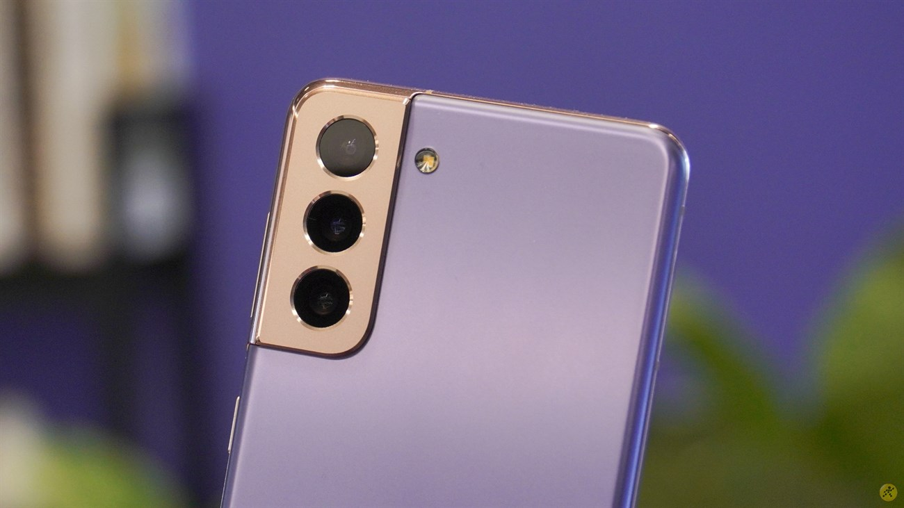 Cụm 3 camera sau trên Samsung Galaxy S21 5G