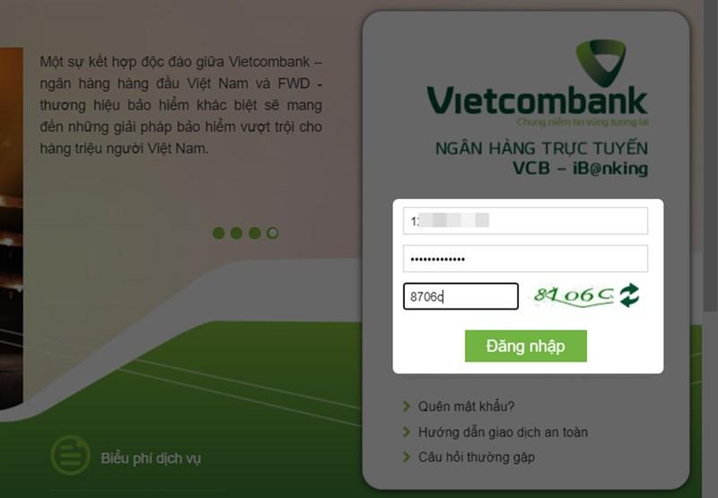 Bước 2: Sau đó, bạn chỉ cần đăng nhập Tài khoản của mình, điền những thông tin cần thiết