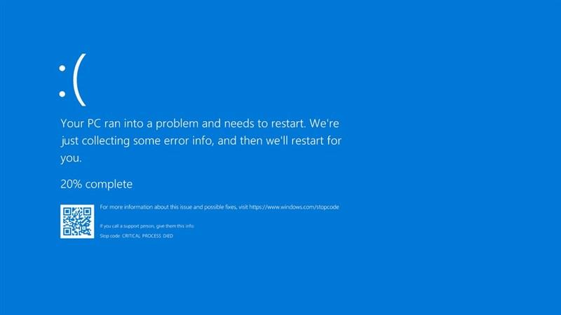 Thật sự mình quá ngán lỗi màn hình xanh trên chiếc laptop của mình các bạn ạ.
