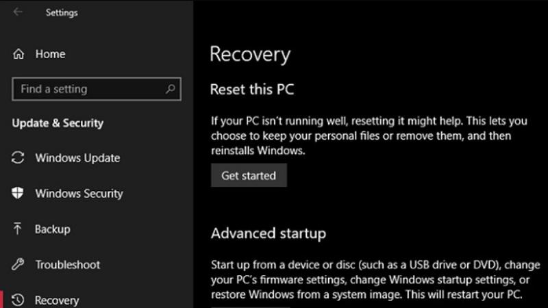 Nếu kẻ gian reset được toàn bộ dữ liệu máy, chẳng phải hắn sẽ bán được laptop của mình hay sao?