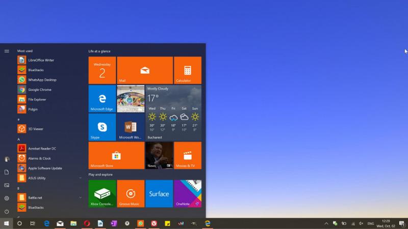 Windows 10X sẽ không còn tính năng Live Tiles.