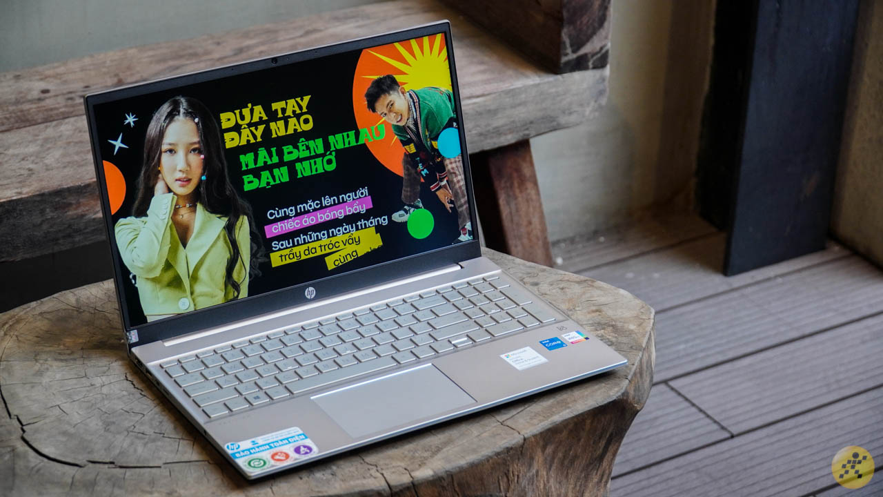 Overall luxury of the HP Pavilion 15