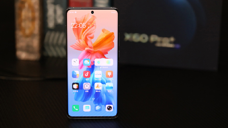 The 6.56-inch display of the Vivo X60 Pro Plus