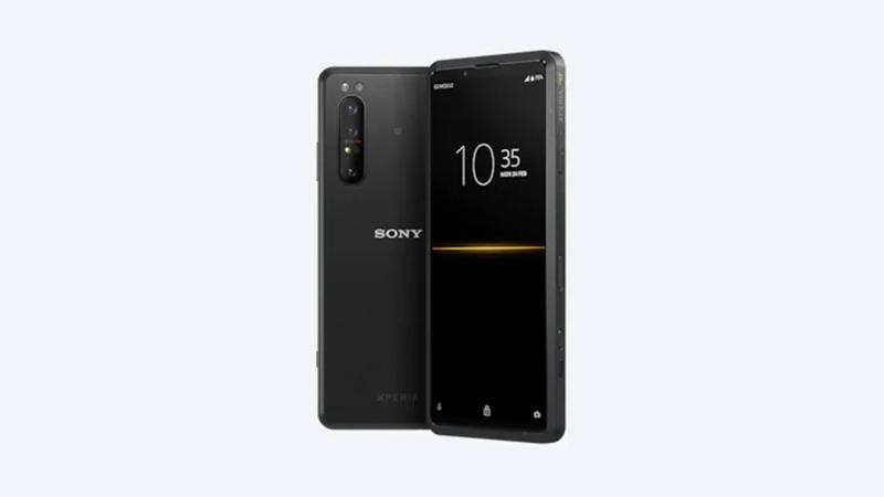 Thiết kế tổng thể của Sony Xperia Pro