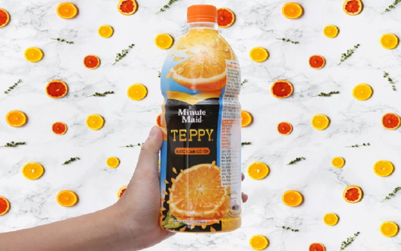 Nước cam ép Teppy
