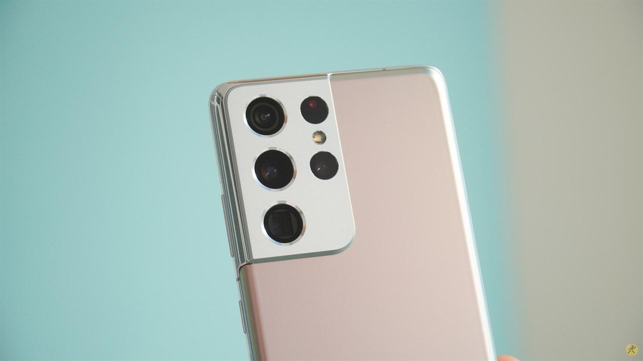 Thiết kế camera của Galaxy S21 Ultra 5G