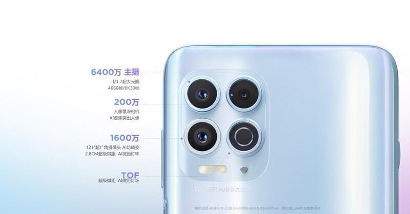 Rear camera cluster on Motorola EDGE S