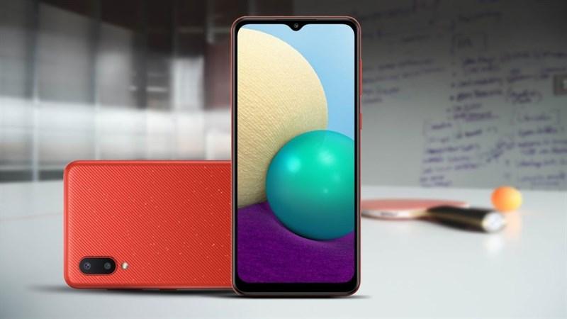 Smartphone giá rẻ Samsung Galaxy A02 (2021) ra mắt: Màn hình 6.5 inch, camera kép, pin lên tới 5.000mAh