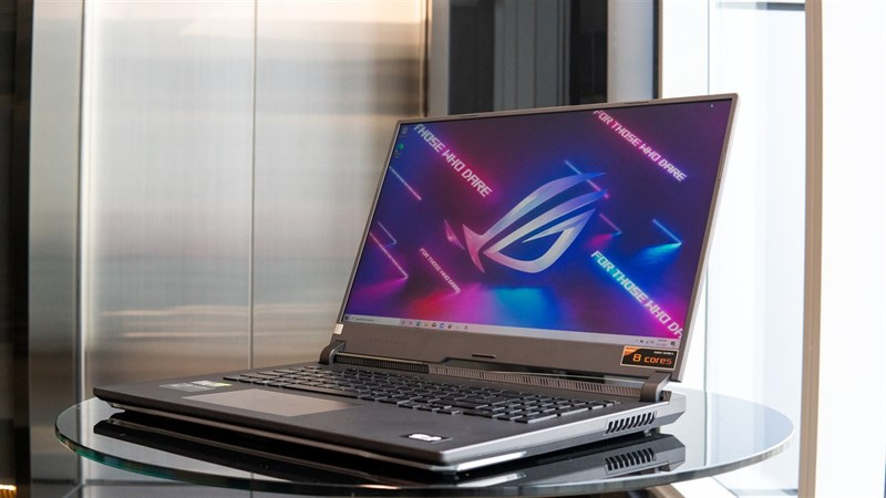 Experience the ASUS ROG Strix G17 (2021) monitor with very good results.