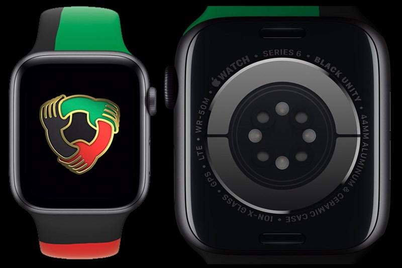 Phiên bản giới hạn Apple Watch Series 6 Black Unity ra mắt để kỷ niệm Tháng Lịch sử người Mỹ gốc Phi