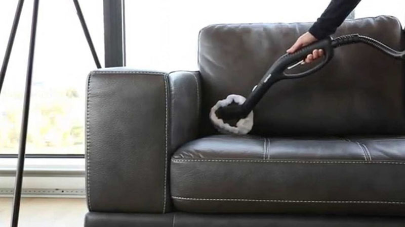 Vệ sinh ghế sofa cho chất liệu da
