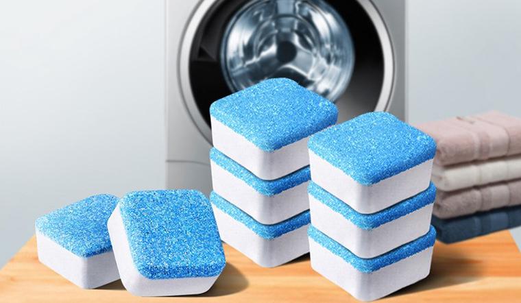 Vệ sinh máy giặt nhanh chóng với viên tẩy máy giặt tiện lợi