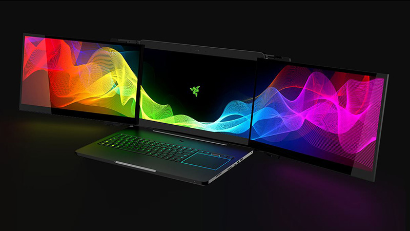 Razer's multi-screen laptop concept